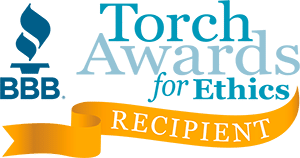 BBB Torch Award Receipient