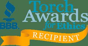 BBB Torch Award Receipient