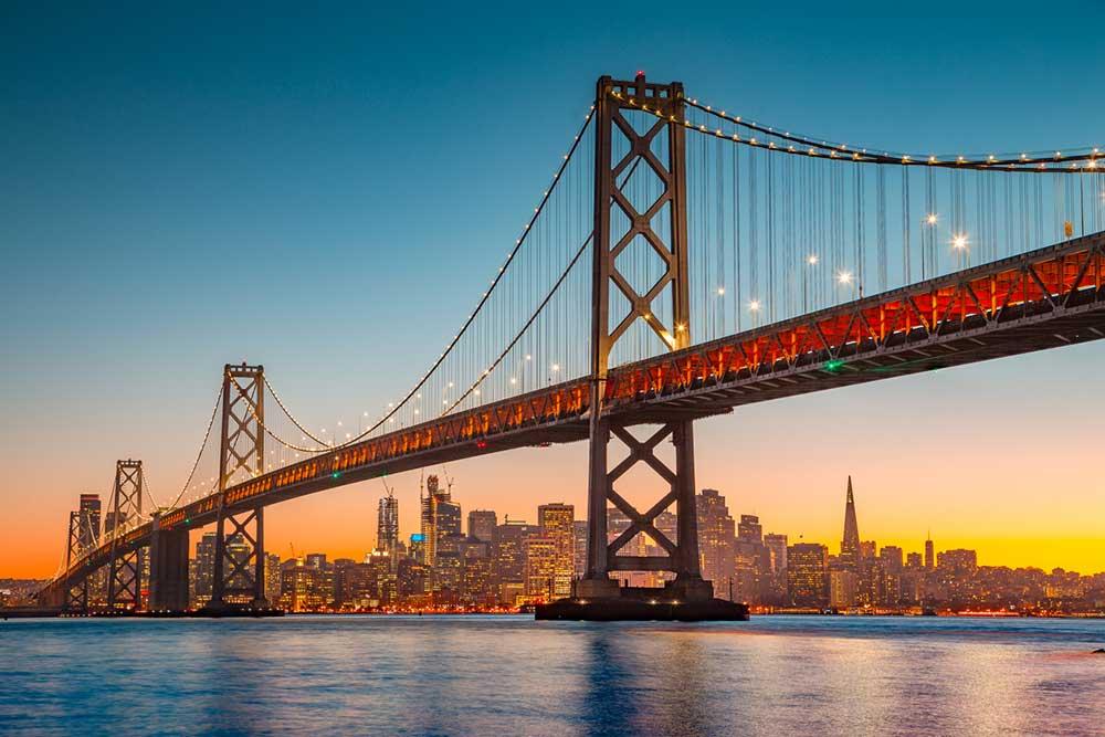 USA Travel to California